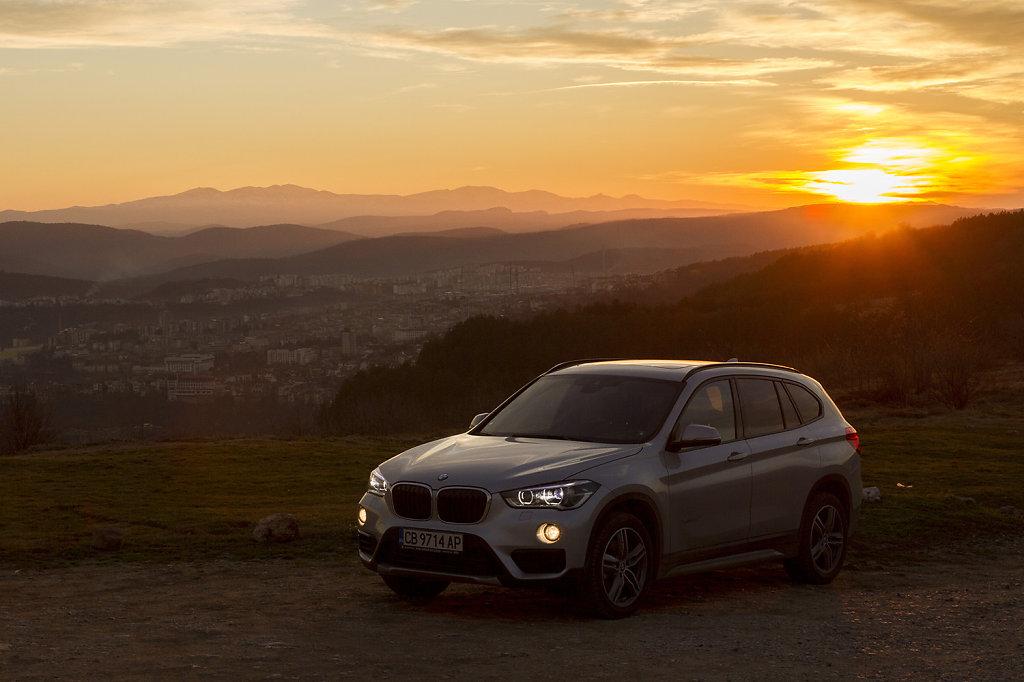 BMW X1 Test Drive for Actualno.com