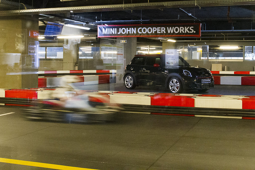 Mini John Cooper Launch